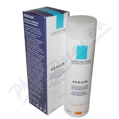 LA ROCHE-POSAY Kerium krémový šampon suché lupy