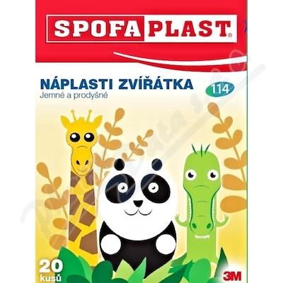 3M Spofaplast 114 Dětské náplasti Zvířátka 20ks