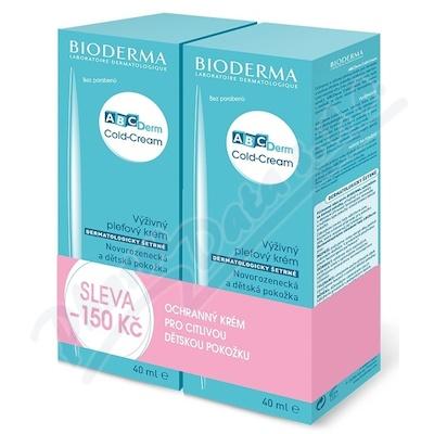 BIODERMA ABCDerm Cold-Cream 40ml+40ml výhodné balení