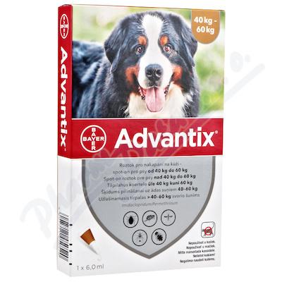 Advantix pro psy 40-60kg spot-on a.u.v.1x6ml