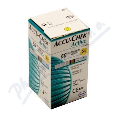Accu-Chek Active testovací proužky 50