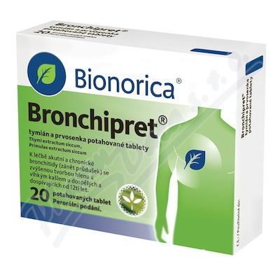 Bronchipret Potahované tablety 20 tablet