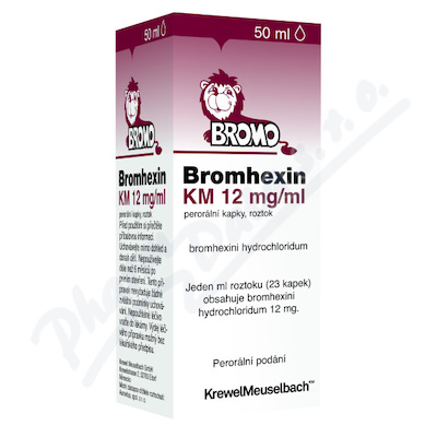 Bromhexin 8 KM kapky 50ml 8mg/ml