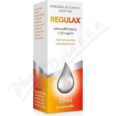 Regulax Pikosulfat kapky gtt.1x10ml-75mg