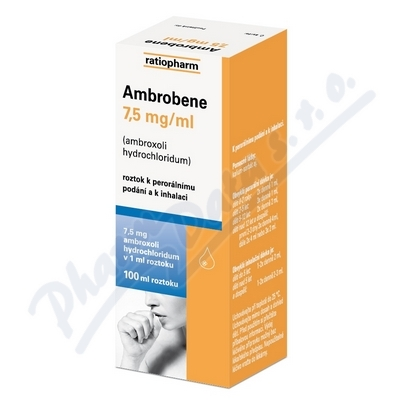 Ambrobene roztok 100ml 7.5mg/ml