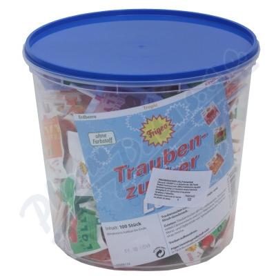 Traubenzucker Lolly lízátka 100ks z hroz.cukru