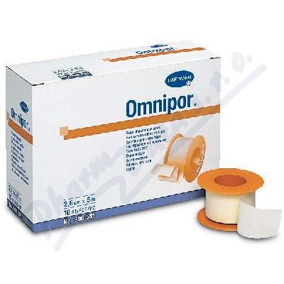 Náplast Omnipor netkaný textil 1.25cmx9.2m-1ks