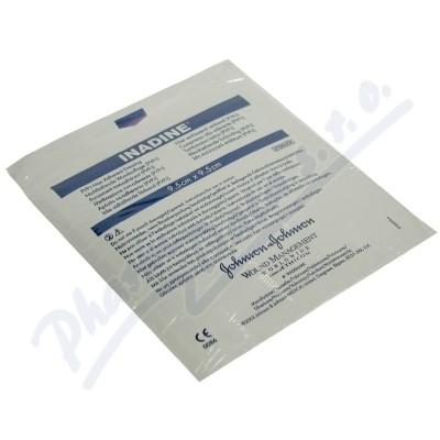 Inadine 9.5x9.5cm-5ks jódový steril.