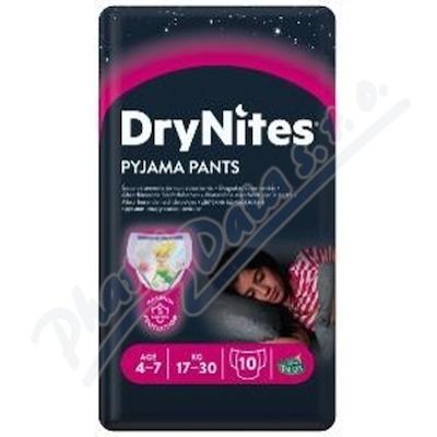 HUGGIES DryNites kalh.abs.4-7-M-girls-17-30kg-10k