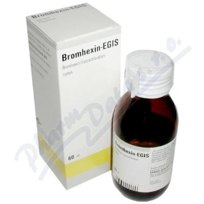 Bromhexin - Egis kapky 60ml/120mg