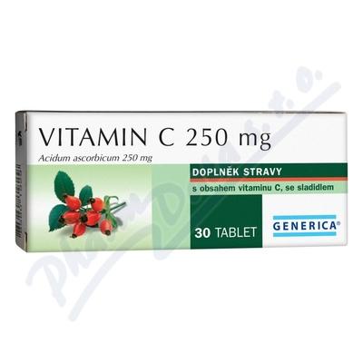 Vitamin C 250mg Generica tbl. 30