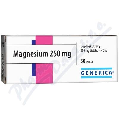 Magnesium 250mg tbl.30 Generica
