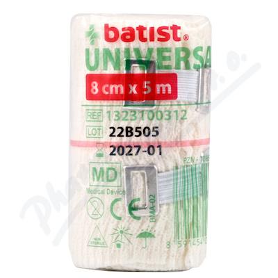 Obinadlo elastické Universal 8cmx5m 1ks Batist