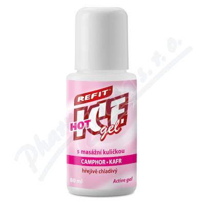 Refit Ice gel roll-on kafr hřejivě chladivý 80ml