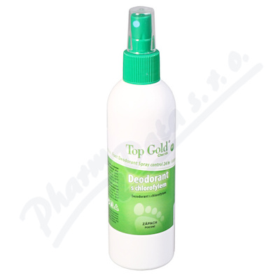 TOP GOLD Deo.s chlorofylem+Tea Tree Oil 150g