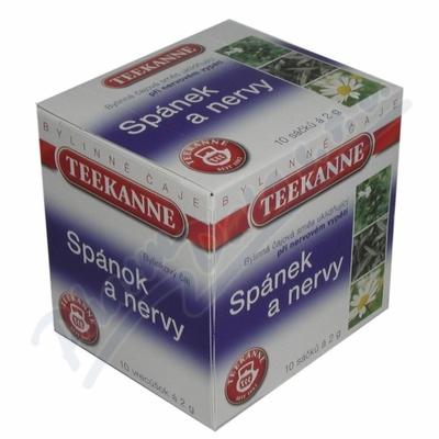 TEEKANNE Spánek+nervy bylinný čaj n.s.10x2g