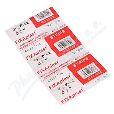 Náplast Fixaplast strip 6x2cm 5ks