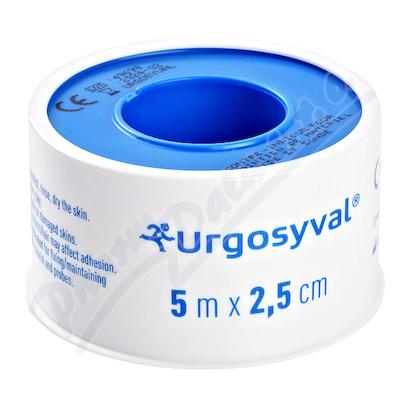 URGO SYVAL Fixační náplast 5mx2.5cm textil