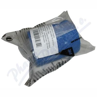 3M Coban elastické samofixační obinadlo 7.5cmx4.5m 1ks modré