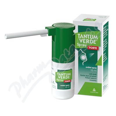 Tantum Verde Spray Forte ústní sprej 15ml 0.30%
