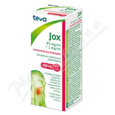 Jox koncentrát pro kloktadlo 100ml