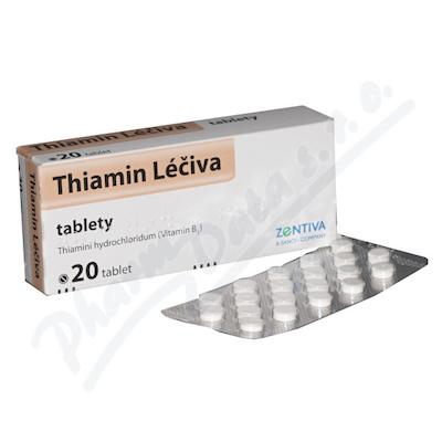 Thiamin Léčiva tbl.20x50mg(blistr)