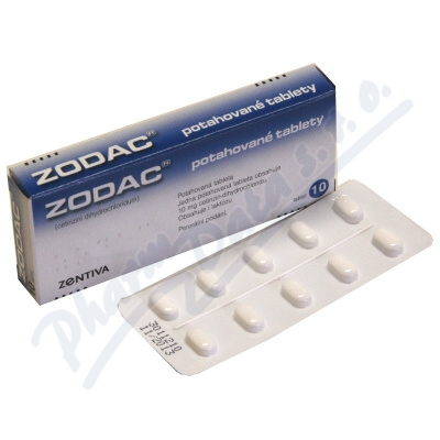 Zodac 10mg 10 tablet