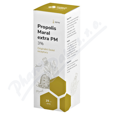 PM Propolis Maral extra 3% ústní spray 25ml