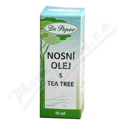 Nosní olej s tea tree 10ml Dr.Popov