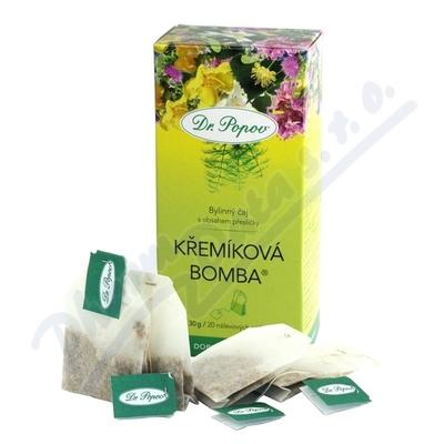 Čaj Křemíková bomba porcovaný 30g Dr.Popov