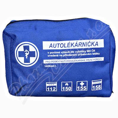 Autolékárnička textil vyhl.č.341-2014 Steriwund