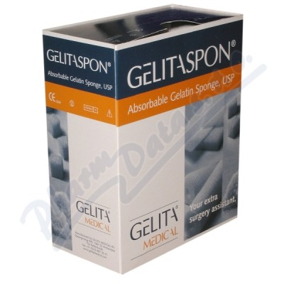 Gelita-Spon Standard GS-002 80x50x10mm-2ks